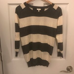 Striped Cashmere Blend 3/4 Sleeve Joie Sweater